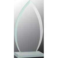 "Oval Jade Glass Award (8 3/4"")"