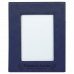 "Leatherette Picture Frame in Blue (5"" x 7"")"