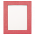 "Leatherette Picture Frame in Pink (8"" x 10"")"