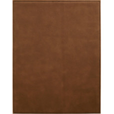 "Leatherette Plaque in Dark Brown (7"" x 9"")"