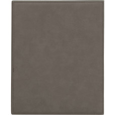 """Leatherette Plaque in Gray (9"""" x 12"""")"""