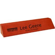 "Leatherette Desk Wedge in Rawhide (10 1/2"")"