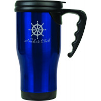 Travel Mugs in Gloss Blue (14 oz.)