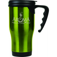 Travel Mugs in Gloss Green (14 oz.)