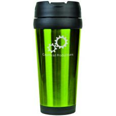 Travel Mugs in Gloss Green (16 oz.)