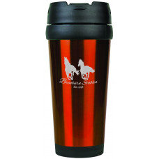 Travel Mugs in Gloss Orange (16 oz.)