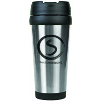 Travel Mugs in Silver (16 oz.)