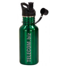 Water Bottles in Gloss Green (17 oz)