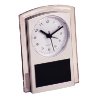 "Silver Promotional Clock (5 1/2"")"
