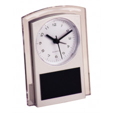 """Silver Promotional Clock (5 1/2"""")"""