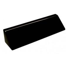 """Black Piano Finish Desk Wedge (8 1/2"""")"""