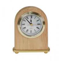 "Red Alder Arch Desk Clock (4"" x 5"")"
