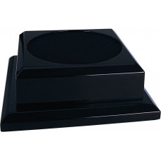 "Black Royal Piano Finish Pedestal Base (7"" x 7"")"
