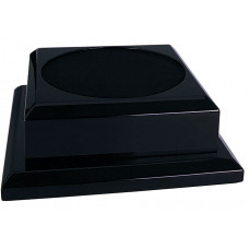 "Black Royal Piano Finish Pedestal Base (8"" x 8"")"