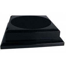 "Black Royal Piano Finish Pedestal Base (11"" x 11"")"