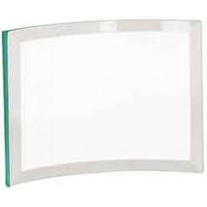 "Jade Glass Crescent (7"" x 5"" x 3/8"")"