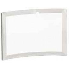 "Clear Glass Crescent (6"" x 4"" x 3/8"")"