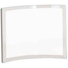 "Clear Glass Crescent (8"" x 6"" x 3/8"")"