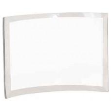 "Clear Glass Crescent (10"" x 7"" x 3/8"")"