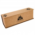 Leatherette Single Wine Box in Light Brown with Tools