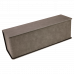 Leatherette Single Wine Box in Gray with Tools