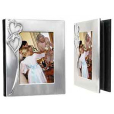 "Heart Photo Album Cover Holds (5"" x 7"")"