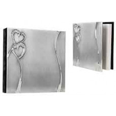 """Heart Guest Book 40 Pages (8"""" x 8"""")"""