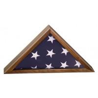 """Walnut Finish Piano Flag Cases (8 1/4"""" x 16 1/4"""")"""