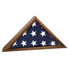 """Walnut Finish Piano Flag Cases (12 1/2"""" x 9 1/2"""")"""