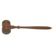 "Walnut Gavel (10"")"