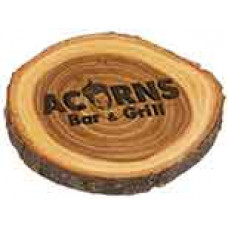 "Wood Plaque 4"" Diameter"