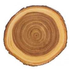 "Wood Plaque 7"" Diameter"