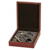 3 Piece Wine Gift Set in Rosenwood