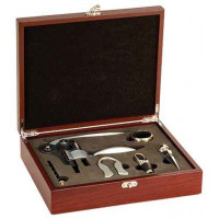 5 Piece Wine Gift Set in Rosenwood