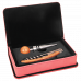Leatherette Wine Tool Gift Set in Pink (2-Piece)