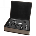 Leatherette Wine Tool Gift Set in Gray (5-Piece)