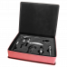 Leatherette Wine Tool Gift Set in Pink (5-Piece)
