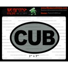 Custom CUB Oval patch