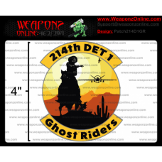 Custom 214th Detachment 1 Ghost Riders Patch