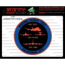 Custom Boeing Flight Test Patch
