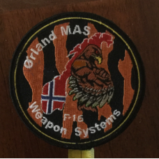 Custom Orland MAS F-16 Weapon System Patch