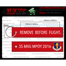 Custom 35th MXG MPOY 2016 Remove Before Flight ®