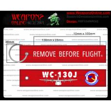 Custom 53d Weather Reconnaissance Squadron C-130J Remove Before Flight ®