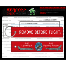 Custom 57th AMXS Remove Before Flight ®