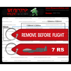 Custom 7th Reconnaissance Squadron Remove Before Flight ®