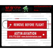 Custom Astin Aviation Remove Before Flight ®