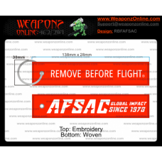 Custom AFSAC Remove Before Flight ®
