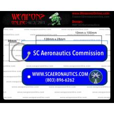 Custom South Carolina Aeronautics Remove Before Flight