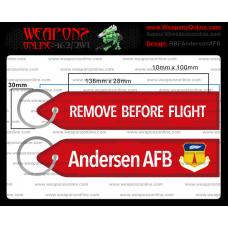 Custom Andersen AFB Remove Before Flight ®