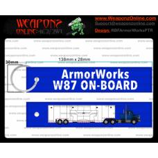 Custom ArmorWorks W87 On-Board Keychain